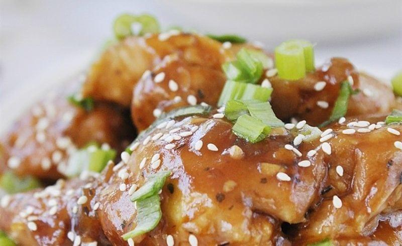 Slow Cooker Honey Garlic Chicken