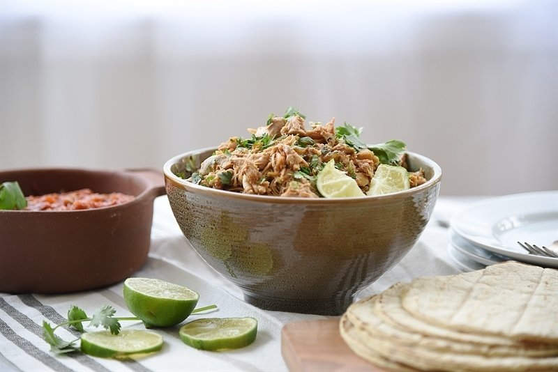 Slow Cooker Chili Lime Chicken