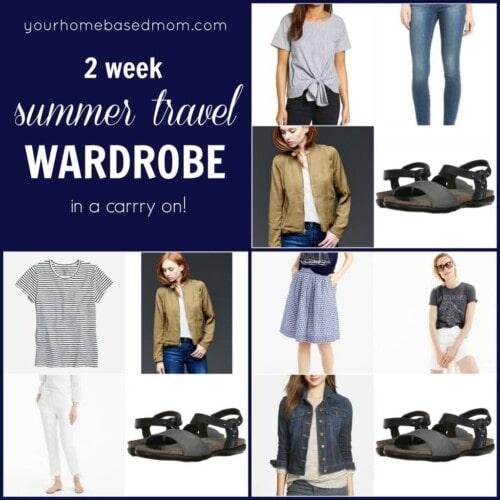 Summer Travel Wardrobe