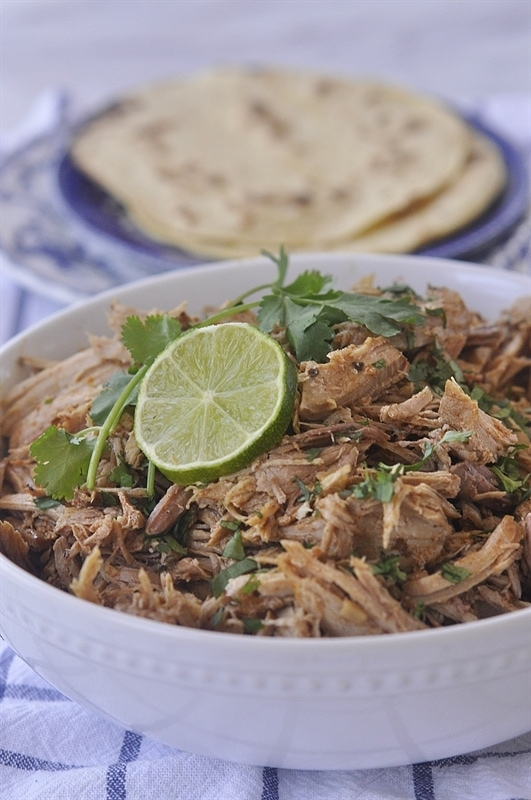 slow cooker Mexican pork Adovada