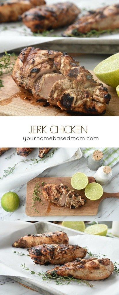 Jerk Chicken from Your Homebased Mom