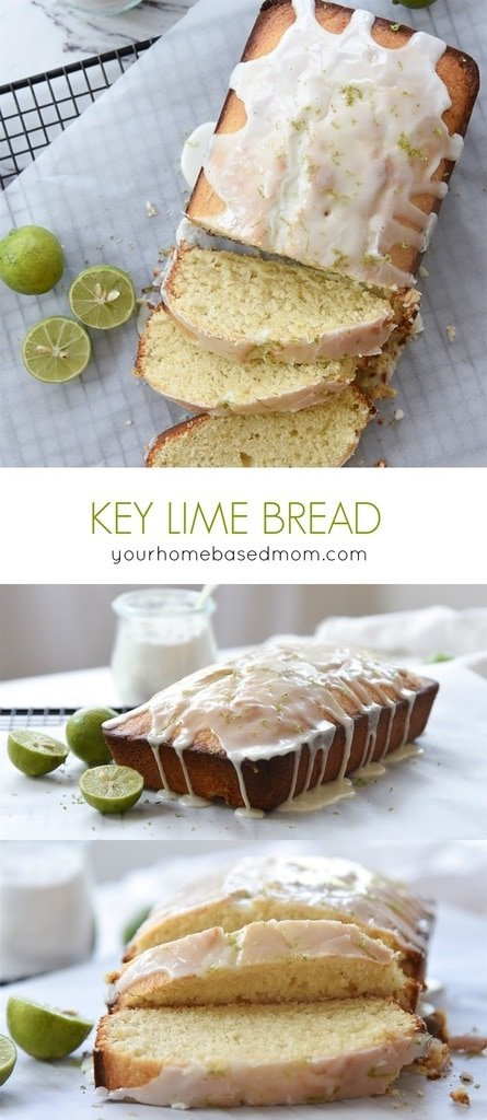 Key Lime Bread with Glaze | Your Homebased Mom