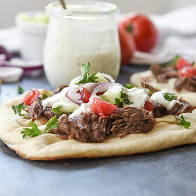 Beef Gyros in the Instant Pot
