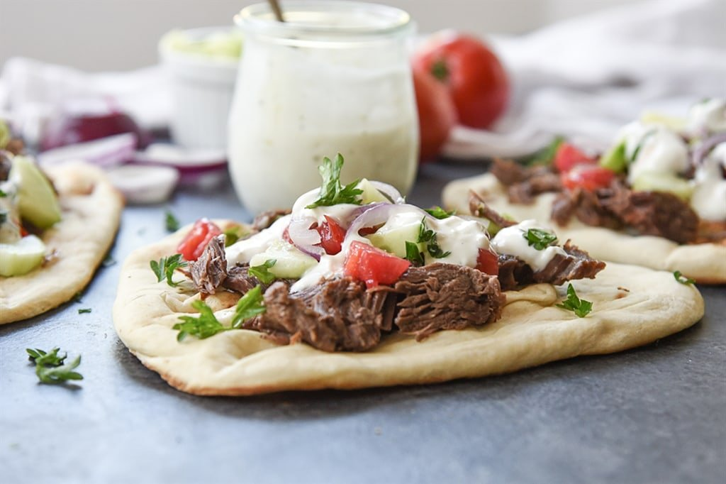 Slow Cooker Beef Gyro