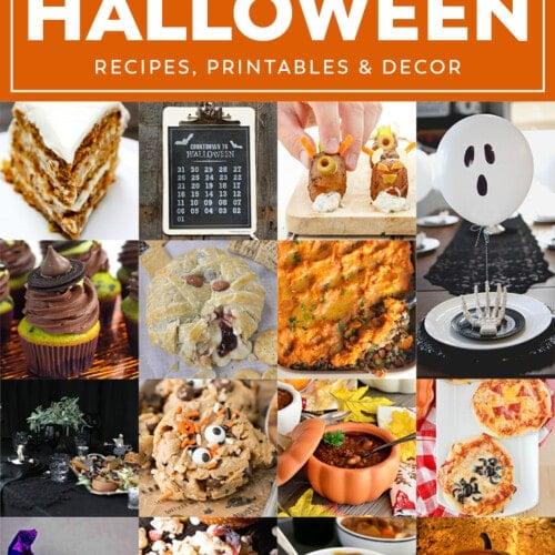 Halloween Meal Plan