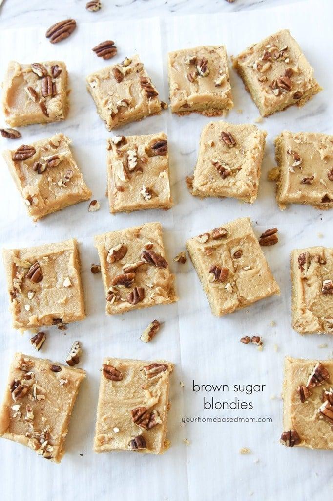 Brown Sugar Blondies