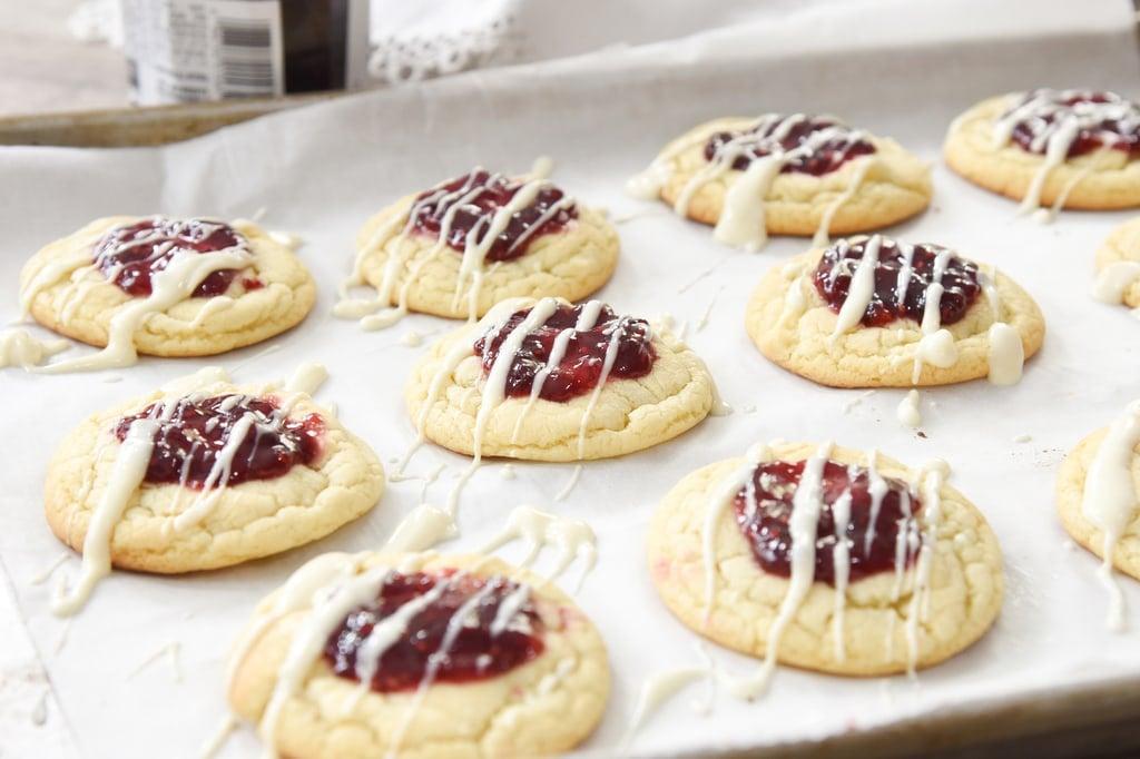 Raspberry White Chocolate Christmas Cookie Recipe