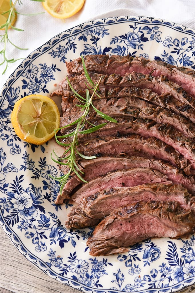 Rosemary Lemon Steak