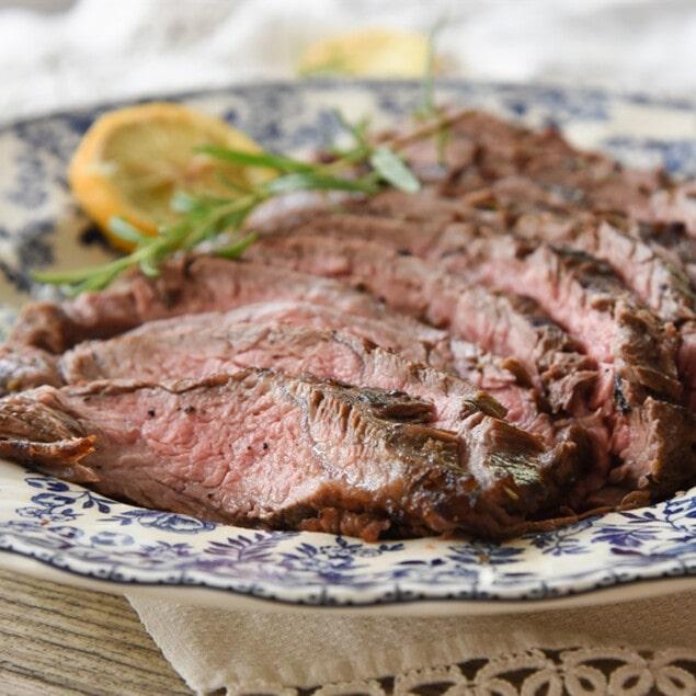 Rosemary Lemon Flank Steak