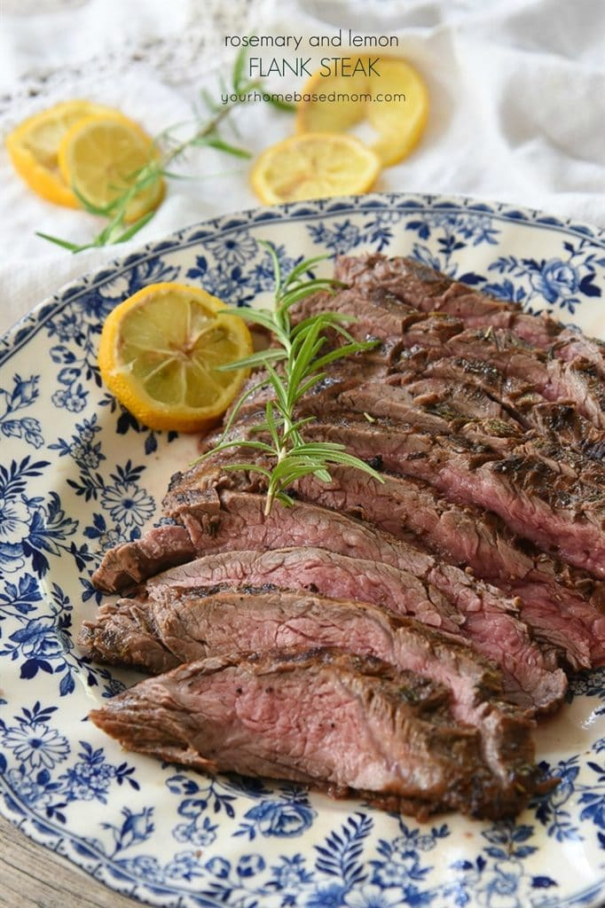 Rosemary and Lemon Flank Steak