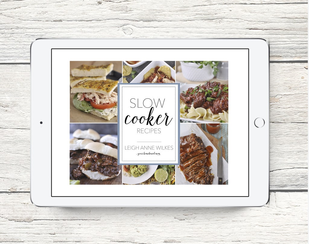 Holiday Slow Cooker Cookbook from Your Homebased Mom