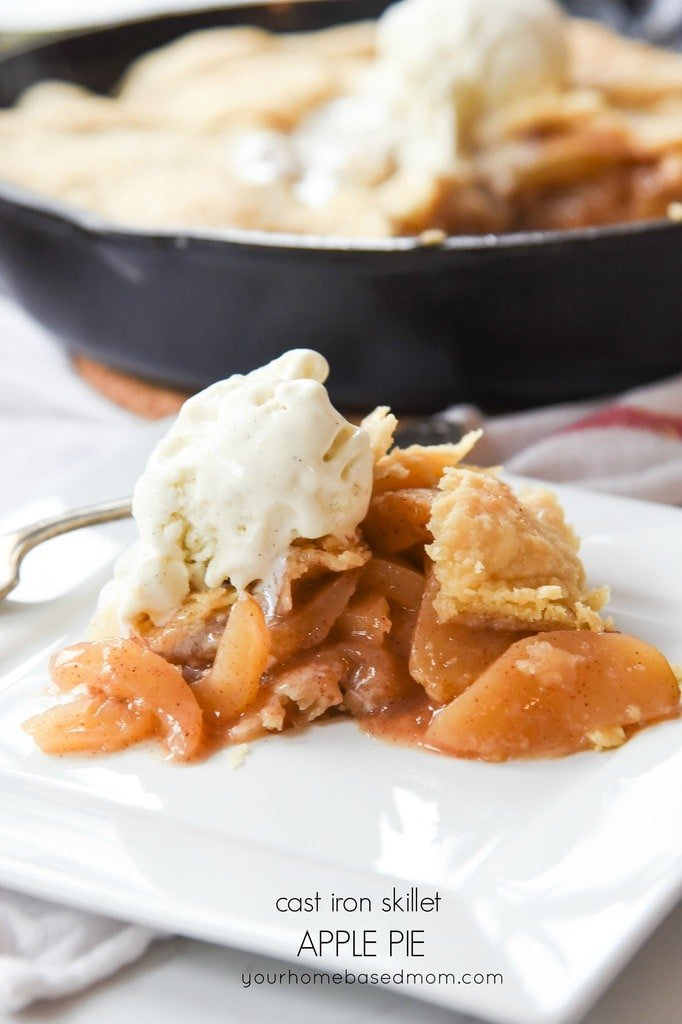 Cast Iron Skillet Apple Pie