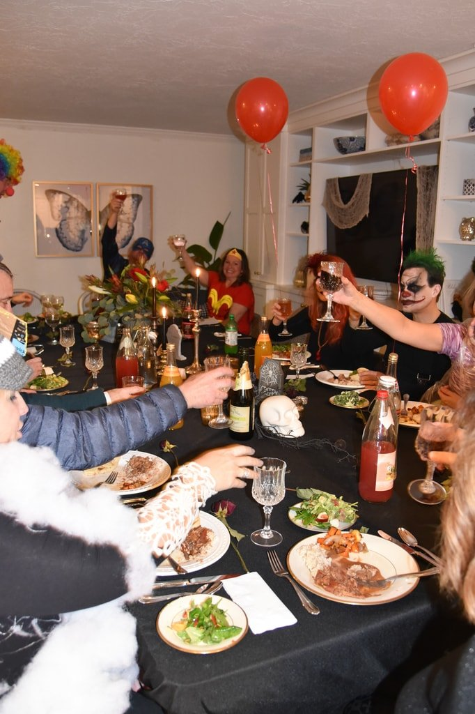 Halloween Dinner Party Menu.Couples Halloween Dinner Party Your Homebased Mom