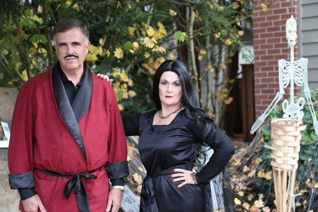Morticia and Gomez Couple Costume
