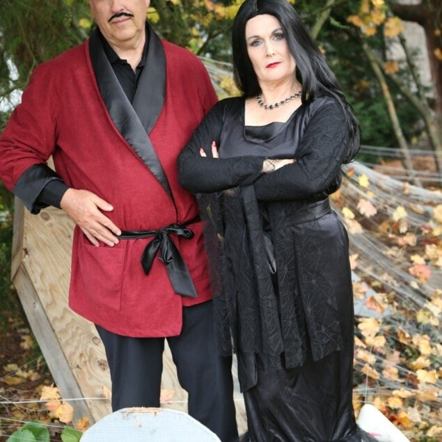 Morticia and Gomez Couples Costume