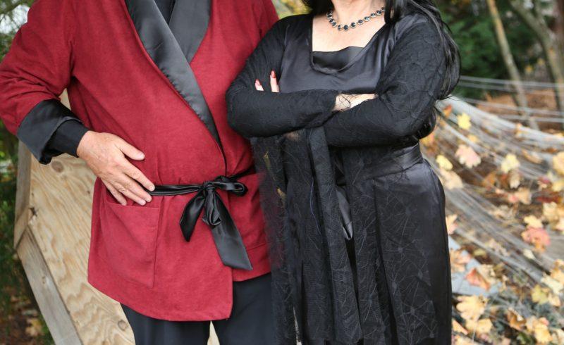 Morticia and Gomez Couples Costume