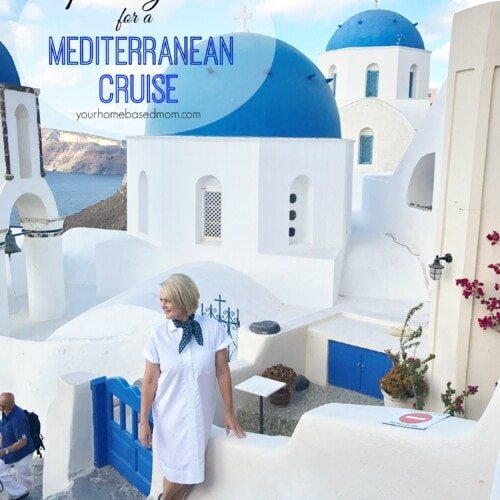 My packing list for Mediterranean Cruise