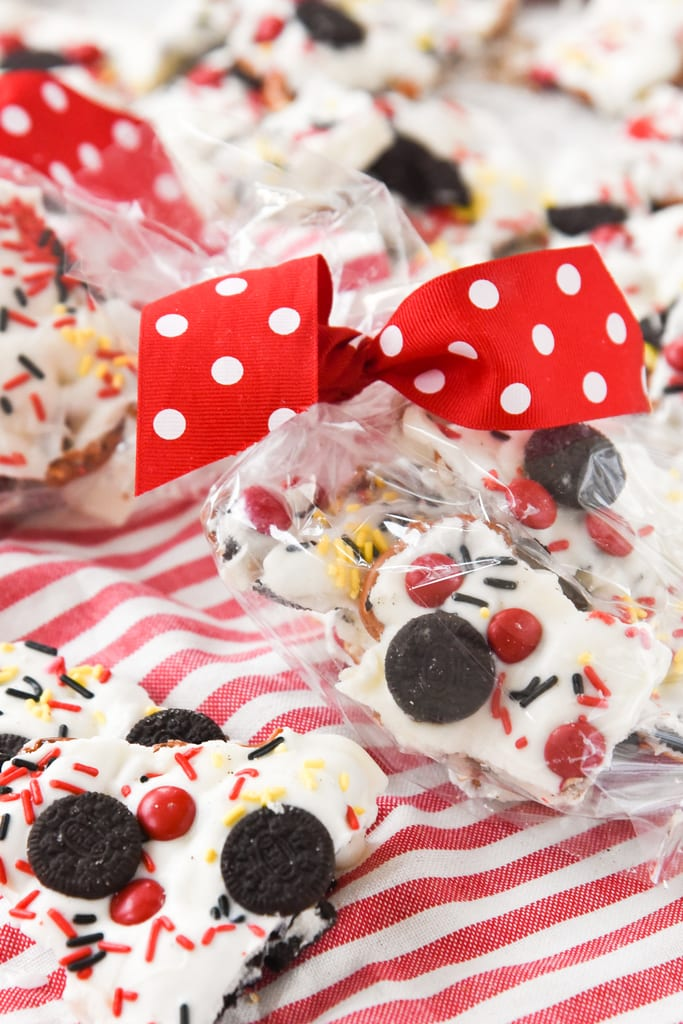 Mickey Mouse Cookie Bark