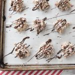 White Chocolate Peppermint Pretzel Bites