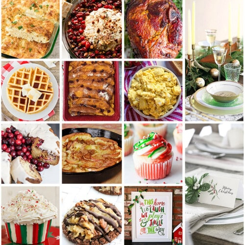 Christmas Brunch Meal Plan