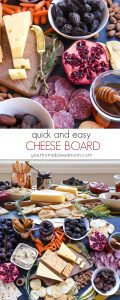 Quick and Easy Cheese Board