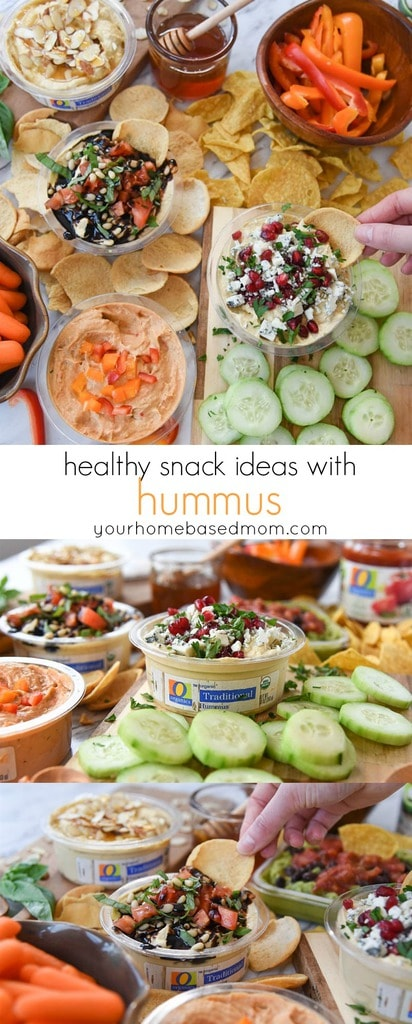 Healthy Snack Ideas with Hummus