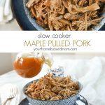 Slow Cooker Maple Pulled Pork C