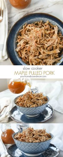 Slow Cooker Maple Pulled Pork C
