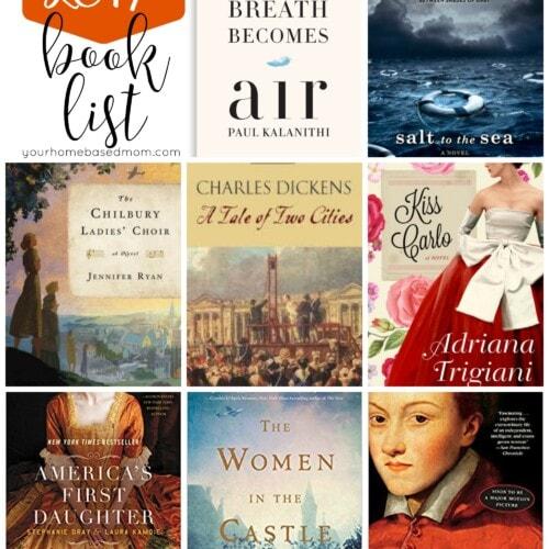 2017 Book List