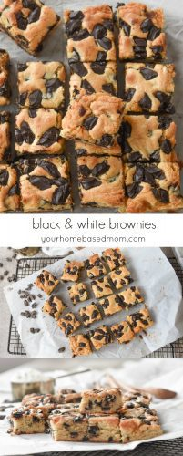 Black and White Brownies