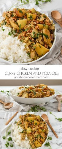 Slow Cooker Curry Chicken with Potatoes