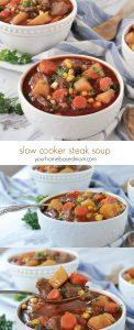 Slow Cooker Steak Soup
