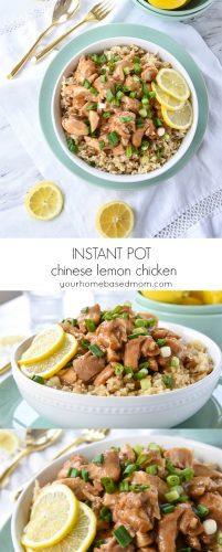 nstant Pot Chinese Lemon CHicken - c