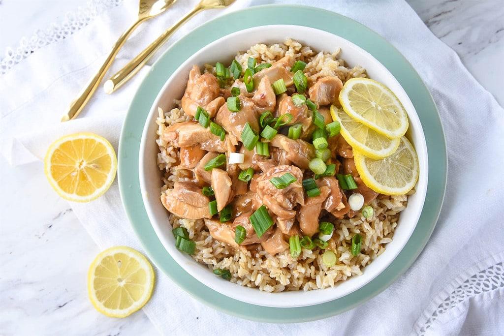 Instant Pot Chinese Lemon Chicken | Your Homebased Mom