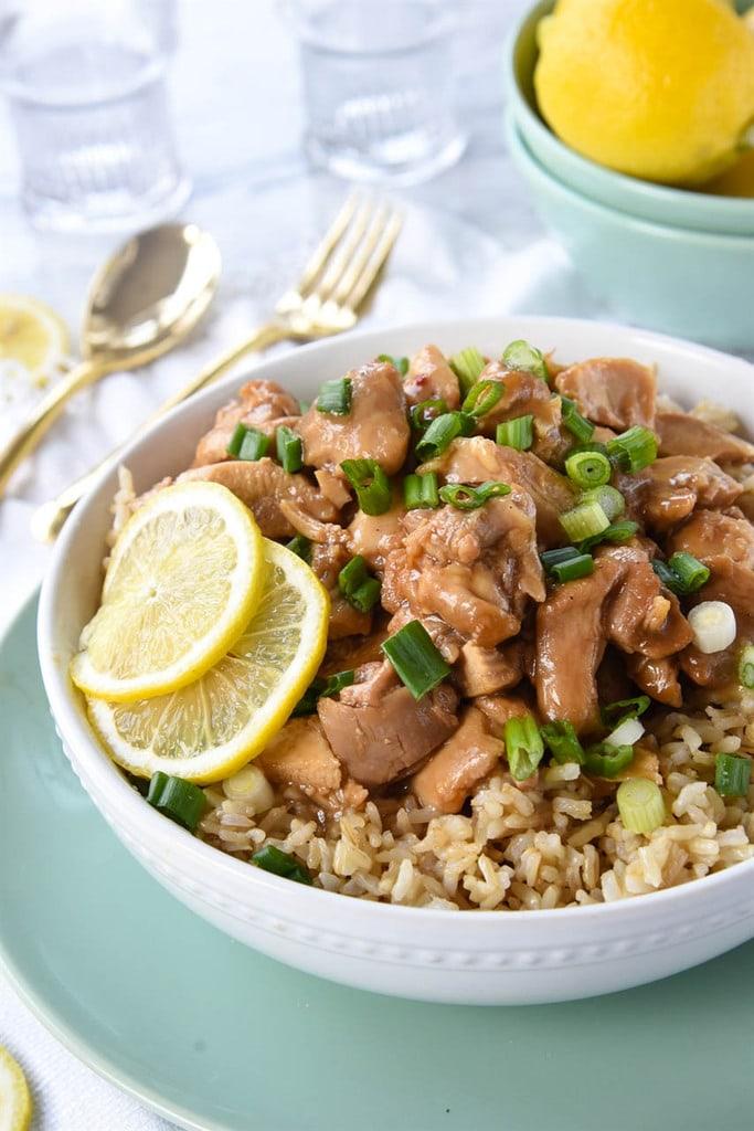 Instant Pot Chinese Lemon Chicken