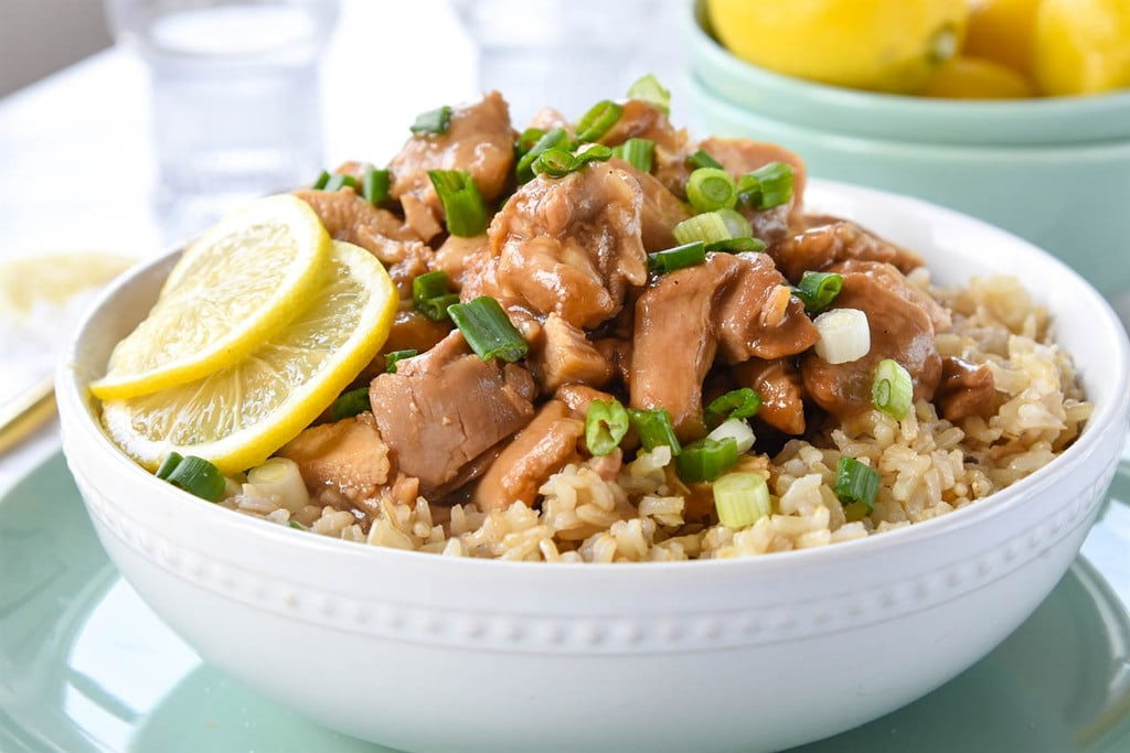 Instant pot chinese lemon chicken your homebased mom create a restaurant style lemon chicken in minutes using your instant pot chinese lemon chicken recipe forumfinder Images