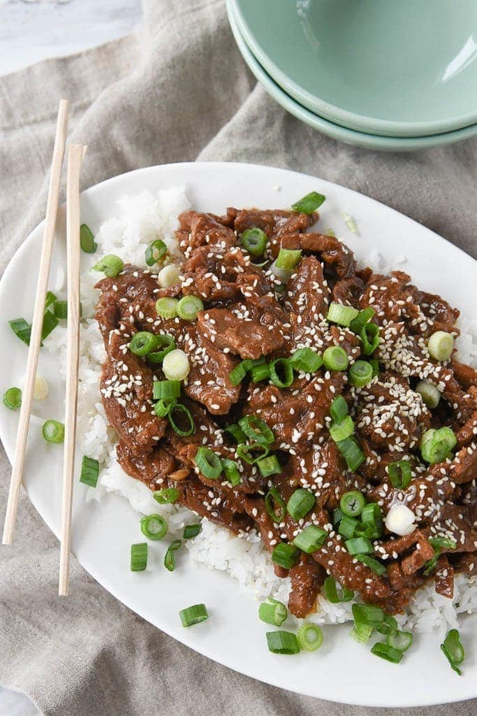 Mongolian Beef Instant Pot Recipe