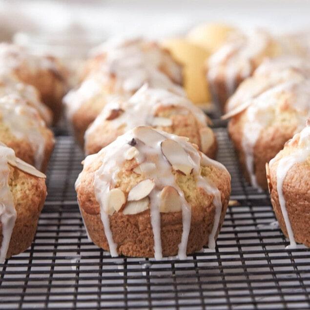 Lemon Almond Muffins
