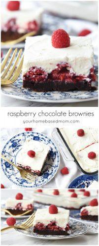Chocolate Rapsberry Brownie