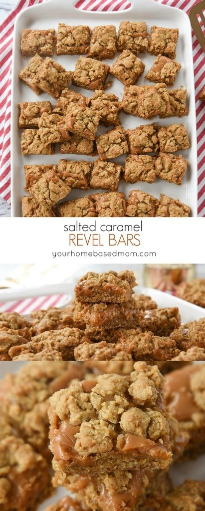 Salted Caramel Revel Bars