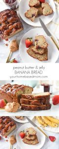 peanut butter and jelly banana bread C