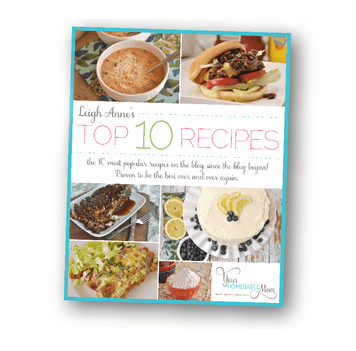 Your homebased mom leigh anne wilkes recipe card forumfinder Images