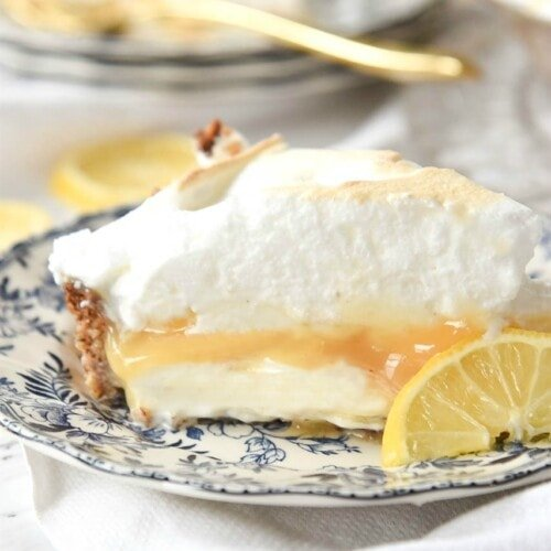 Lemon Curd Ice Cream Pie