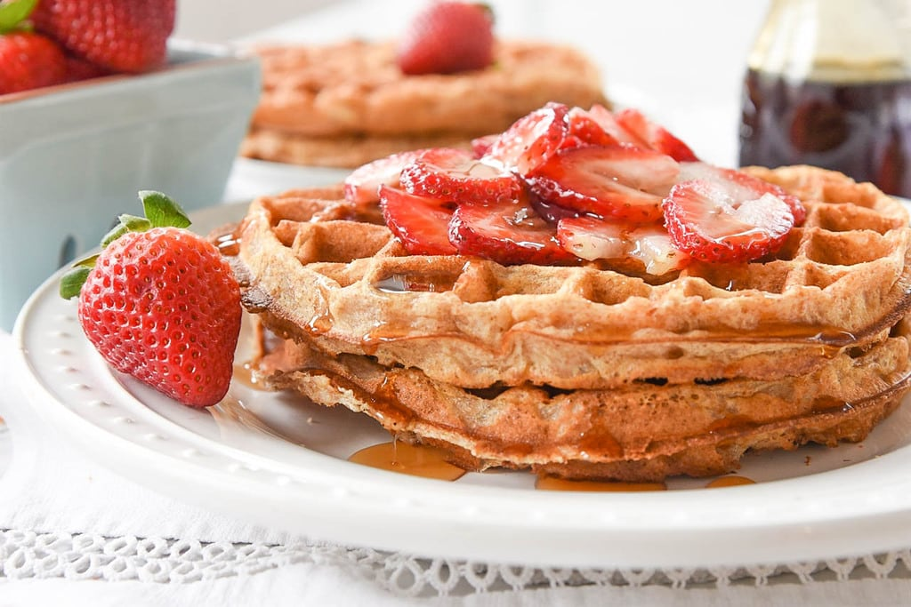 Oatmeal Waffles with Whole Wheat Flour