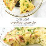 Overnight Breakfast Casserole C