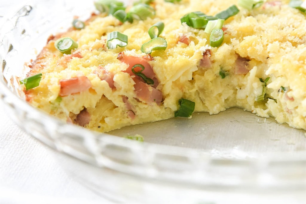 ham and egg breakfast casserole