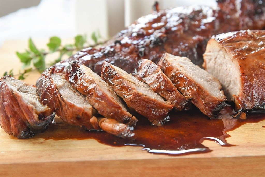 Sliced Chinese BBQ Pork