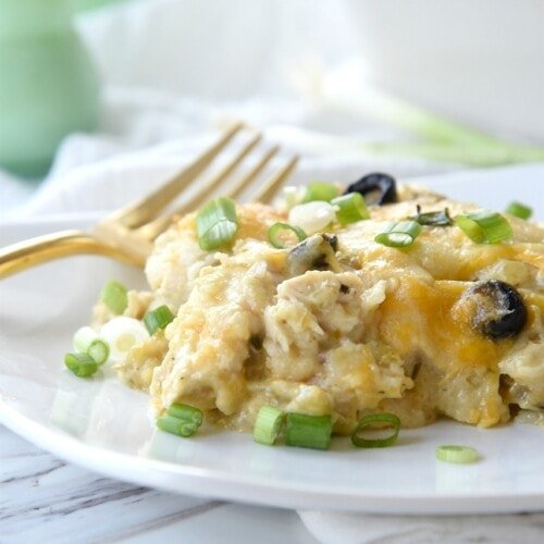 Green Chili Chicken Casserole
