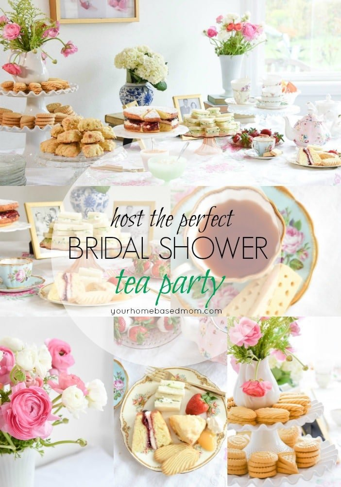 Hosting the perfect Tea Party Bridal Shower is the best way to celebrate the new bride to be. Your favorite tea party foods along with pretty flowers and of course tea, are all you need as well as a few guests!