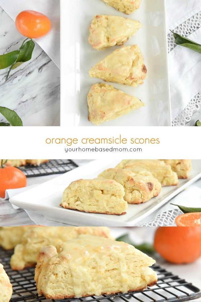 Orange Scones are sweet, light and tender. The addition of an amazing orange glaze takes them to the next level!